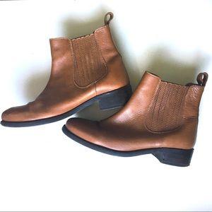 ASOS Cognac Chelsea Boots
